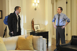 Hugh Laurie and Robert Sean Leonard
