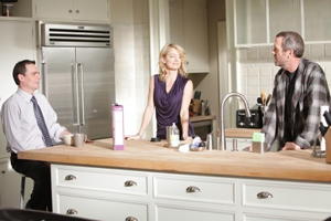 Robert Sean Leonard, Cynthia Watros and Hugh Laurie
