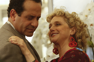 Tony Shalhoub and Carol Kane