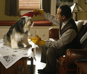 Tony Shalhoub and Sparky