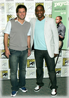 James and Dule at ComicCon